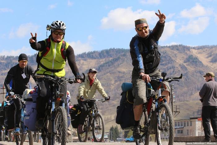 Организатор общесибирского велопервомая снова выбрал местом проведения Алтай