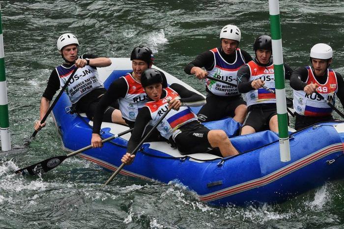 Золото у горноалтайской команды юниоров на Первенстве Мира по рафтингу в Японии