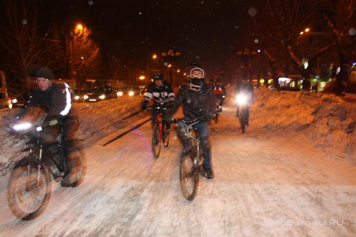 """Акция """"ВелоСветлячки"""" снова соберет велосипедистов на проспекте Ленина"""