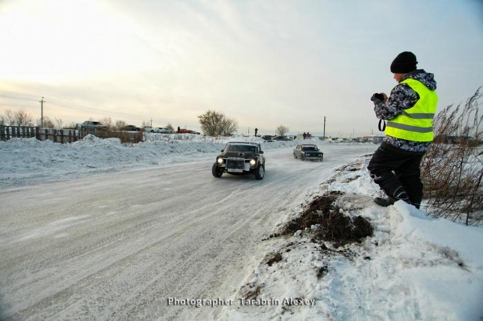 В Бийске на выходных провели второй этап ледового спринта