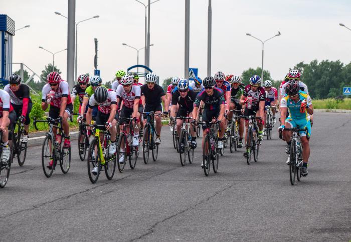 Андрей Воронков в тройке лидеров на Кубке ТВЗ по велоспорту-шоссе в Томске