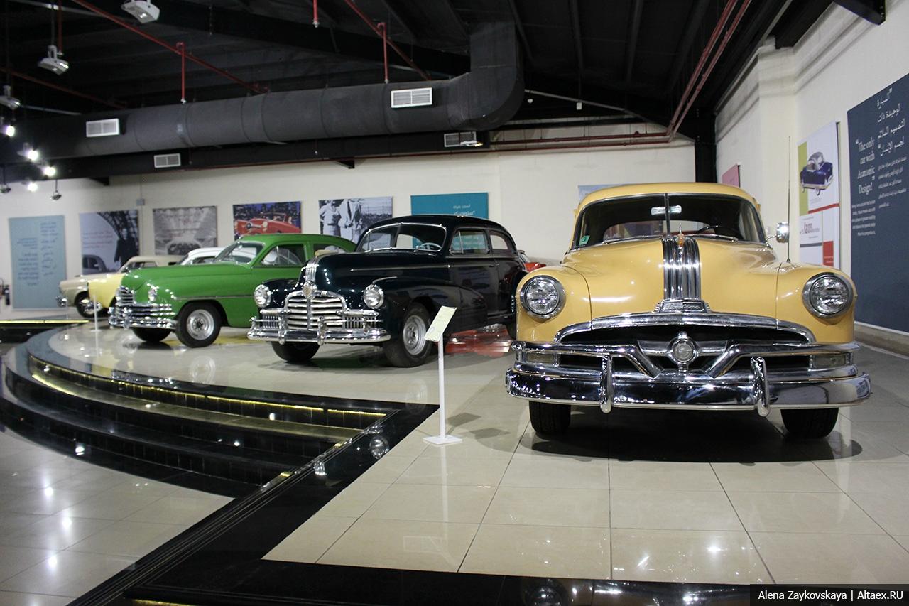 Sharjah Classic Cars Museum - музей классических автомобилей Шарджи