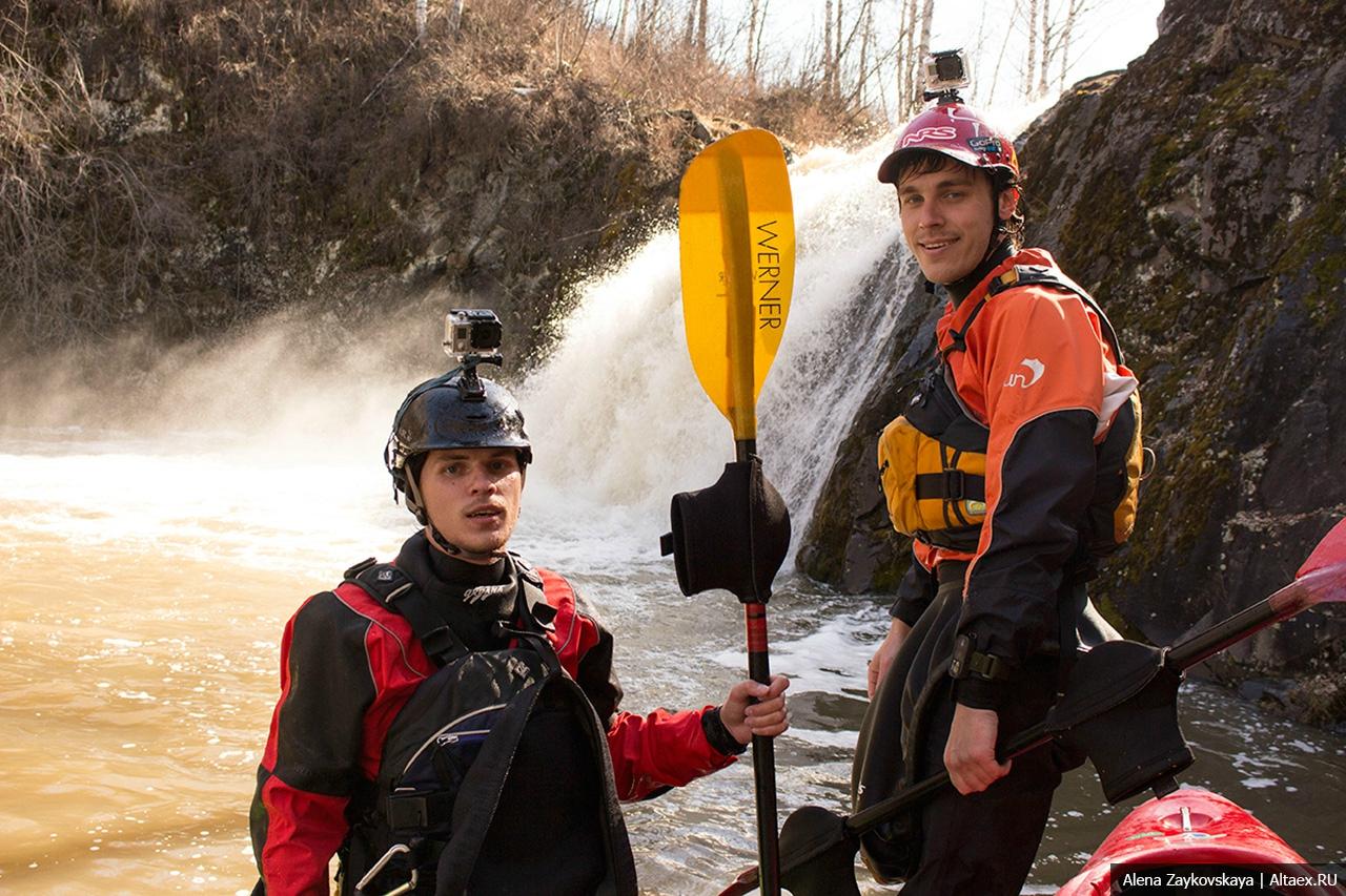 Барнаульские каякеры совершили первопрохождение водопадов Пильно