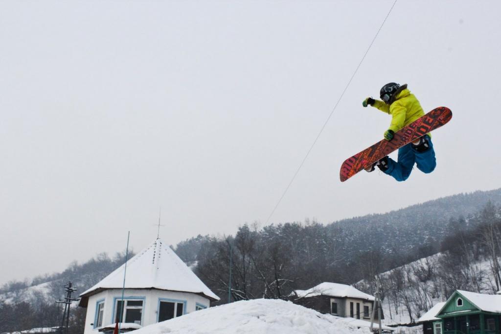В минувшие выходные в Горно-Алтайске прошел зимний фестиваль Горный микс