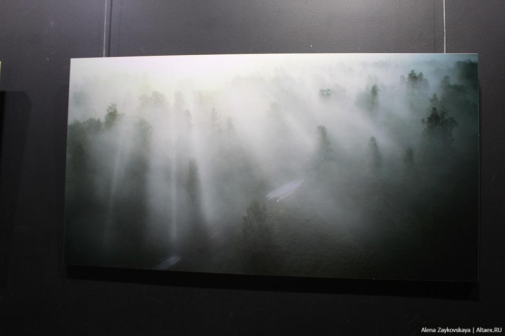 В конце января открылась выставка фотографа и кинооператора Владимира Курилова «Белый кислород».