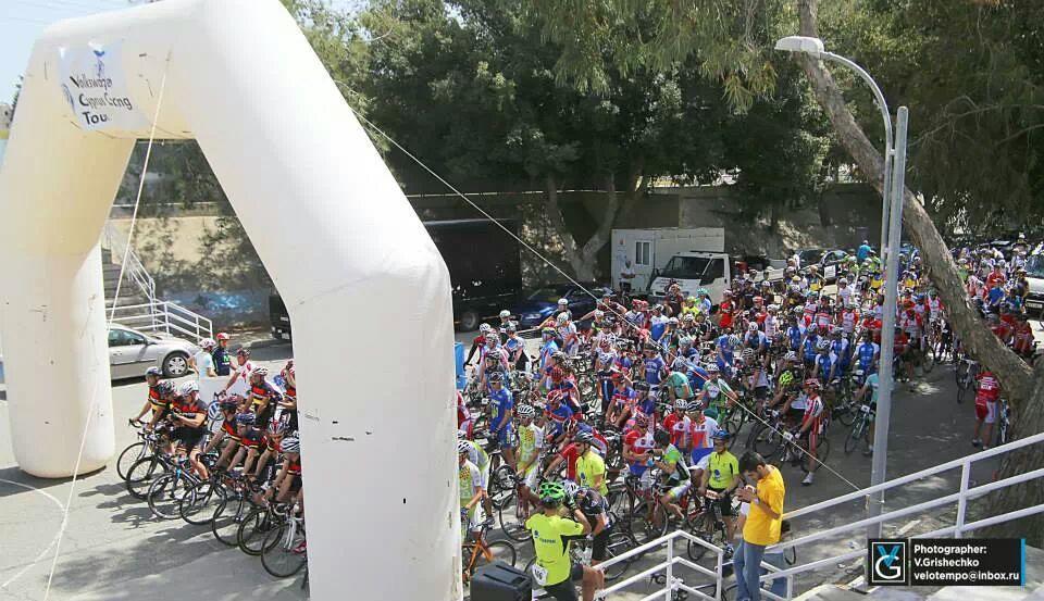Барнаульский велосипедист Александр Грибанов стал вторым на Туре Кипра