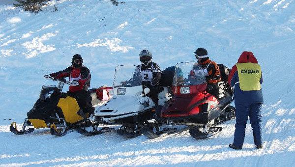Завершился второй открытый чемпионат Республики Алтай по спортивному туризму на снегоходах «Зимний марафон – 2014»