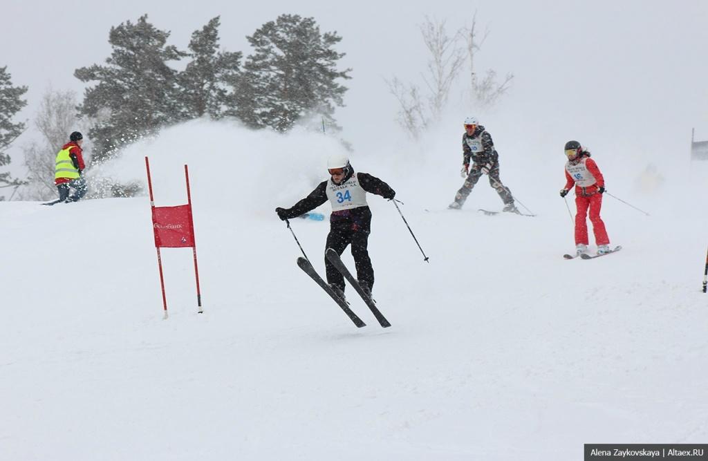 В первый день весны на ГЛК Авальман прошел фестиваль Снежный Шквал