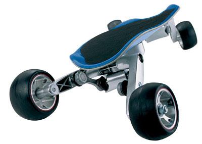 Streetcarver - наиболее радикальная модификация скейборда, выпускаемая компанией BMW