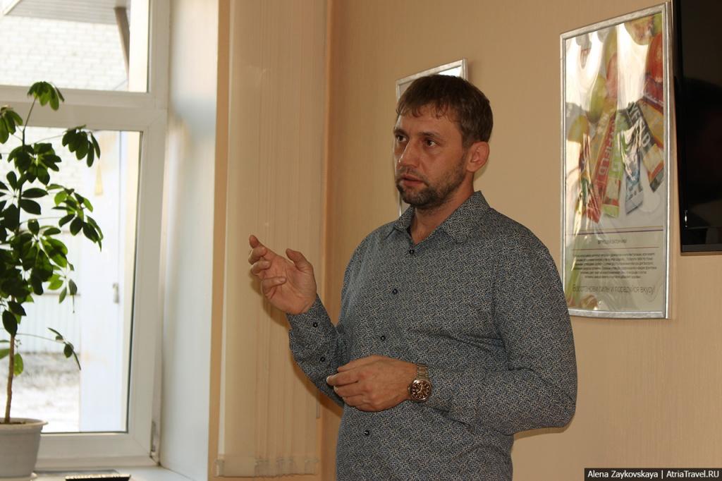 Сегодня в Барнауле прошла встреча с путешественником Евгением Ташкиным