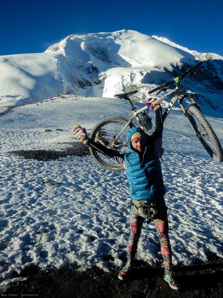 На велосипеде вокруг Аннапурны - мечта ставшая реальностью алтайского каякера