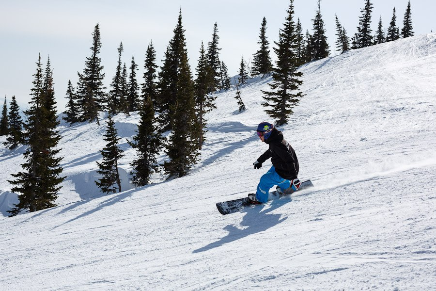 Горные лыжи на алтае