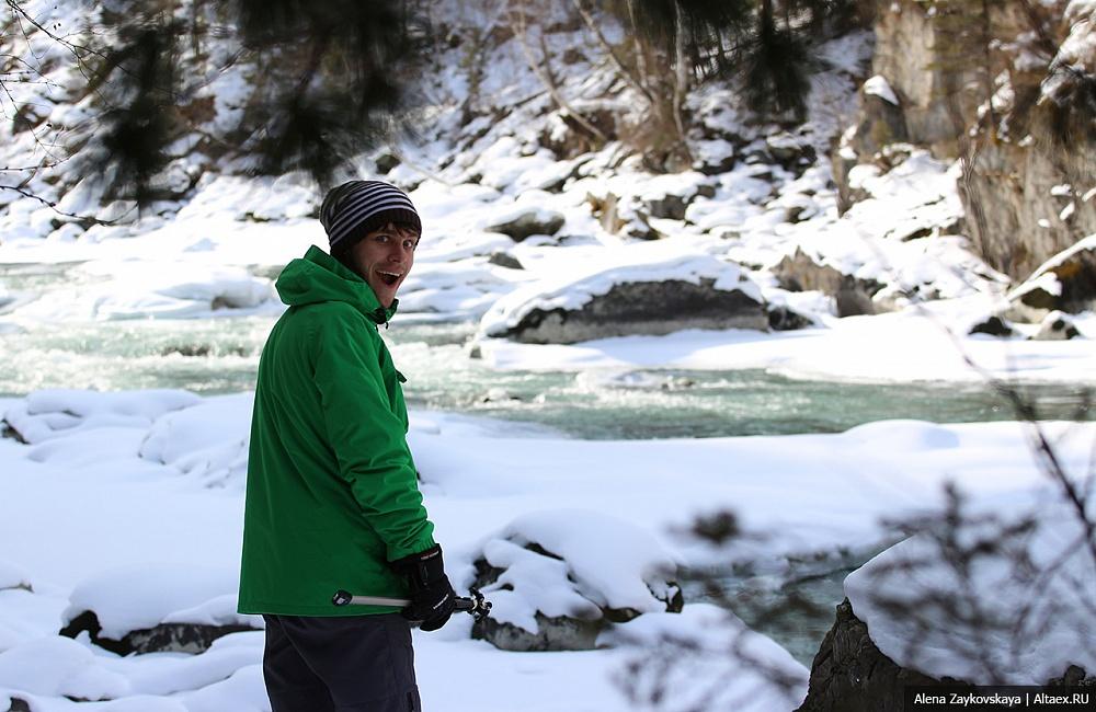Специально для каякеров и рафтеров: Пороги Чуи и Катуни зимой