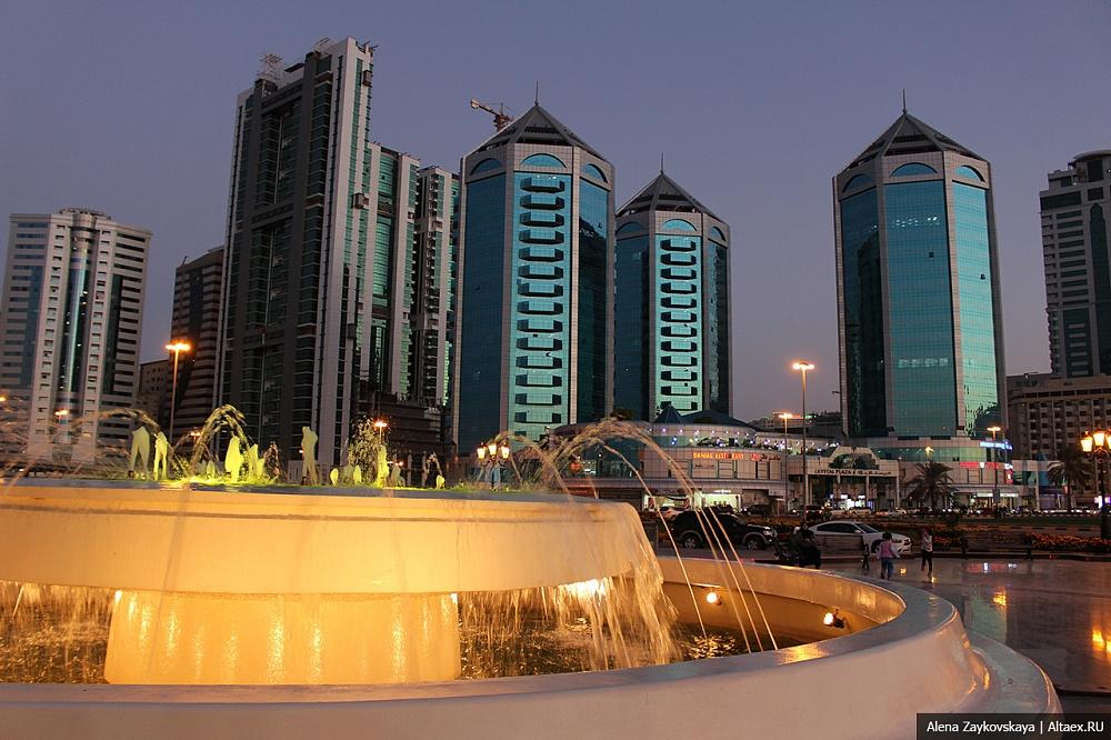 Шарджа - один из дешёвых штатов ОАЭ