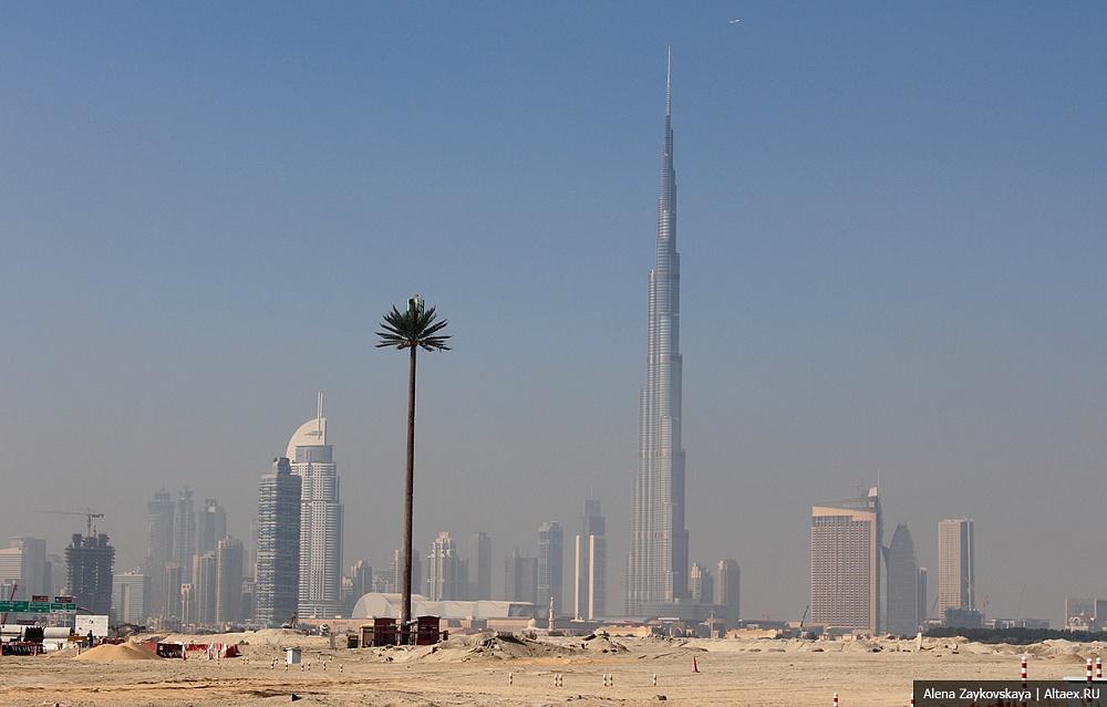 Дубай. Международный мегаполис.
