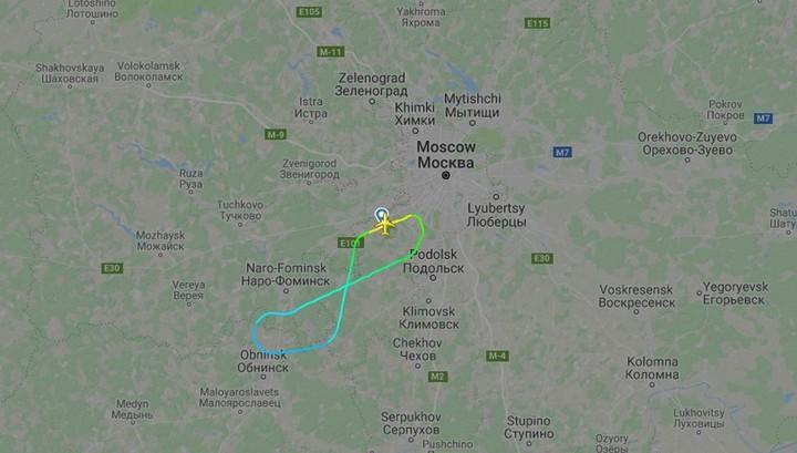 Рейс в Прагу вернулся в Москву из-за пожара на борту
