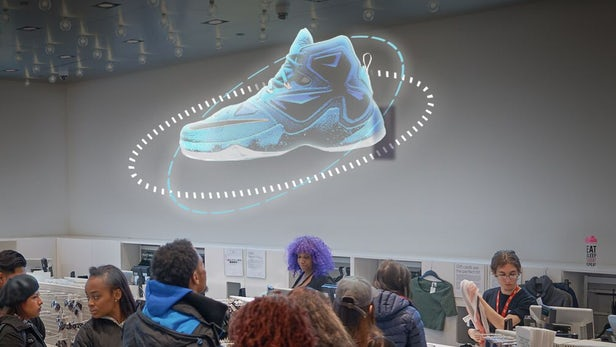 Голографический 3Д вентилятор - эффективность рекламы