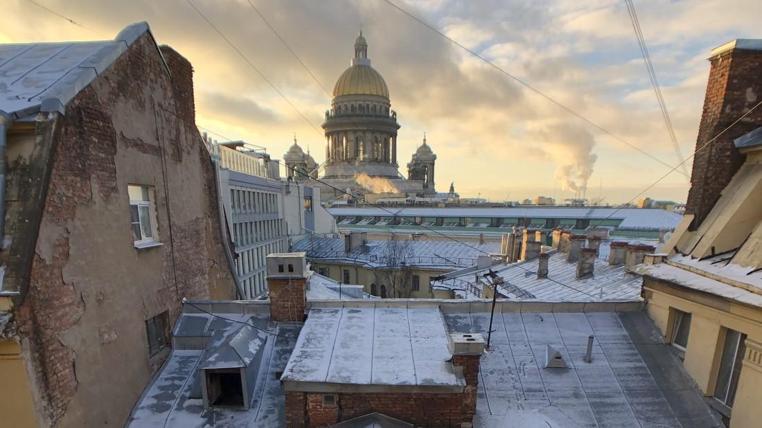 Крыши Петербурга закроют для туристов