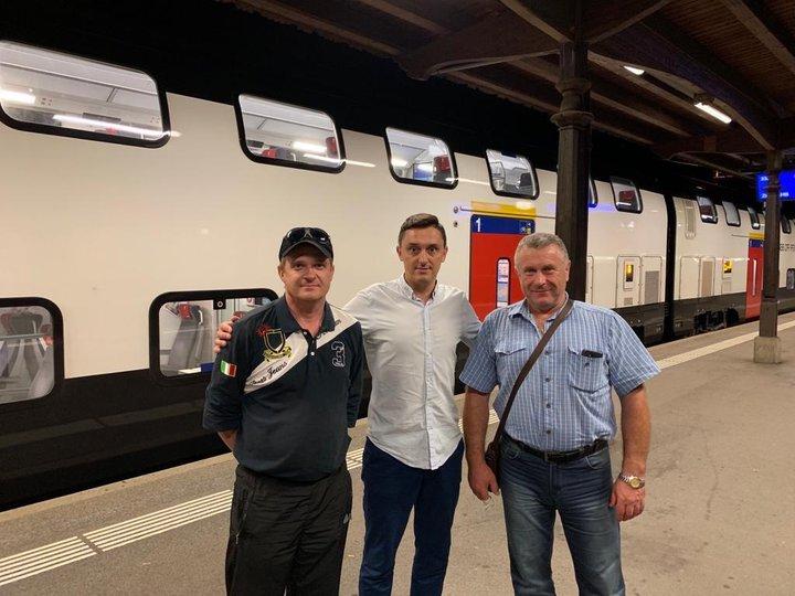 Застрявшим в Швейцарии белорусским водителям помогли. Они скоро выедут домой