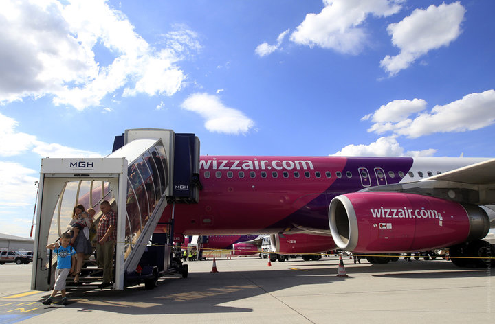 В Минск будет летать лоукост Wizzair - рейсы семь дней в неделю