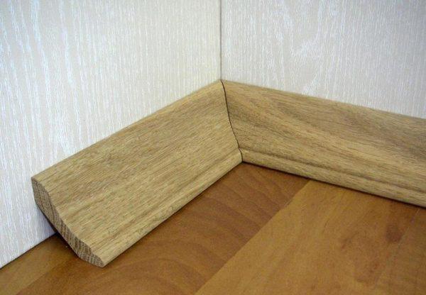 Большой выбор качественных напольных деревянных плинтусов