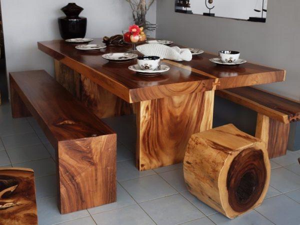 Большой выбор мебели из массива дерева