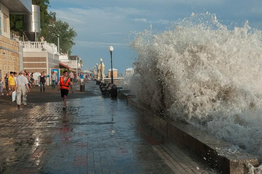 «Потоп» в Сочи туристов не отпугнул