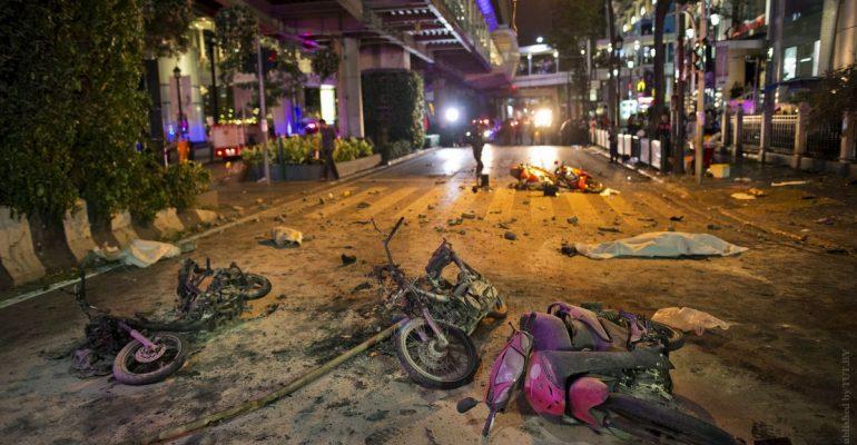 В Бангкоке прогремело шесть взрывов, среди туристов пострадавших нет