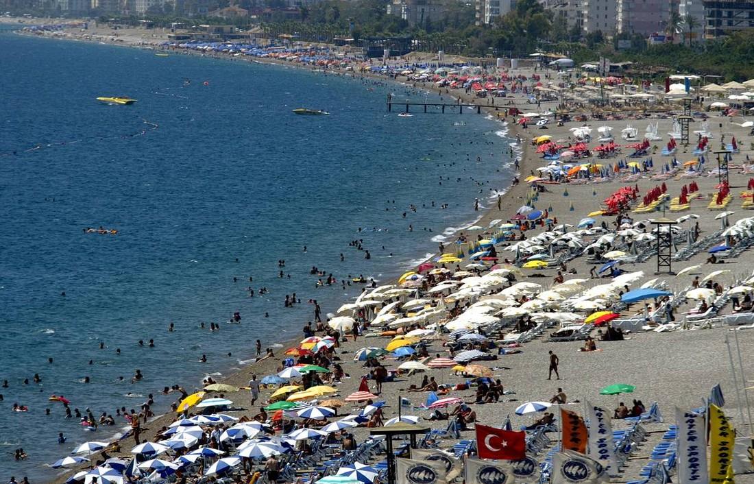 Российские туристы побили рекорд в Турции