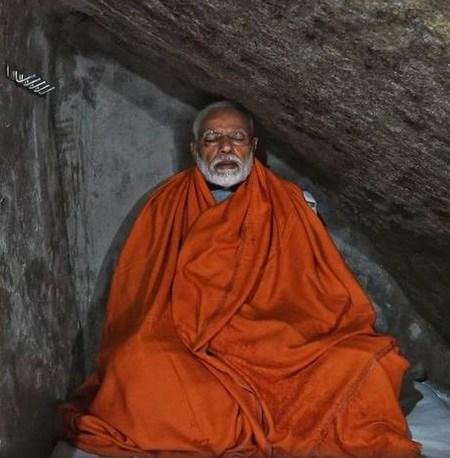Пещера для медитации премьер министра Индии стала туристической достопримечательностью
