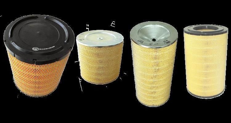 Воздушные фильтры для грузовой и специальной техники
