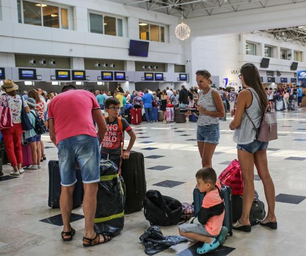 Турция приняла 24,69 млн иностранных туристов за первые семь месяцев года