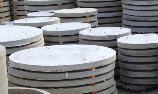 Производство плит перекрытия для днищ колодцев