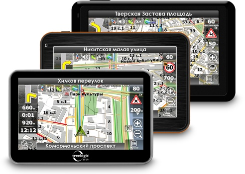 GPS навигаторы лучшего качества