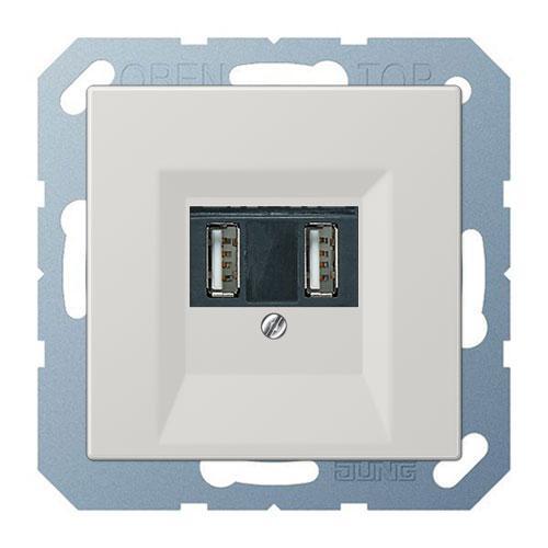 Розетки 220v JUNG USB для зарядки