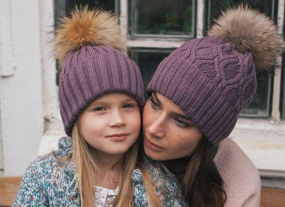 Зимние шапки в Украине