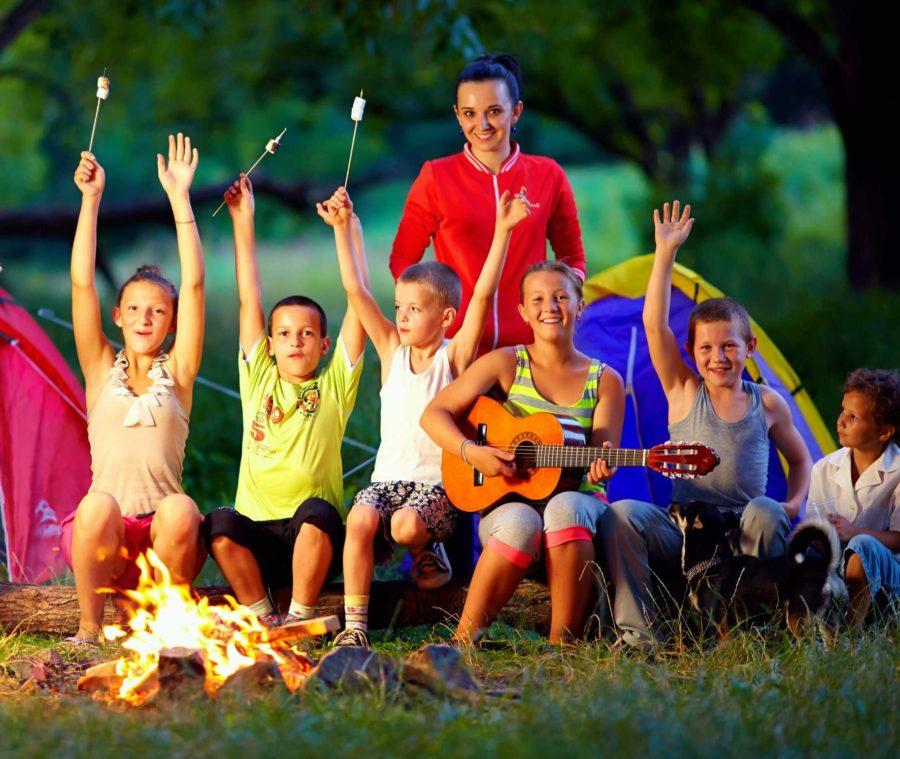 Отдых вашего ребенка в детском лагере