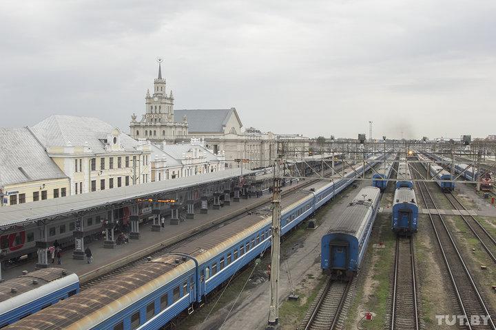 Юбилейный поезд Брест - Владивосток отправится с вокзала Брест-Центральный в 2020 году