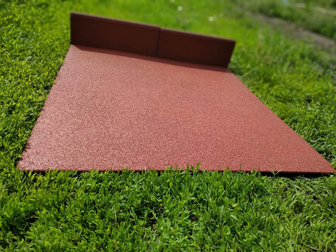 Преимущества спортивного резинового покрытия