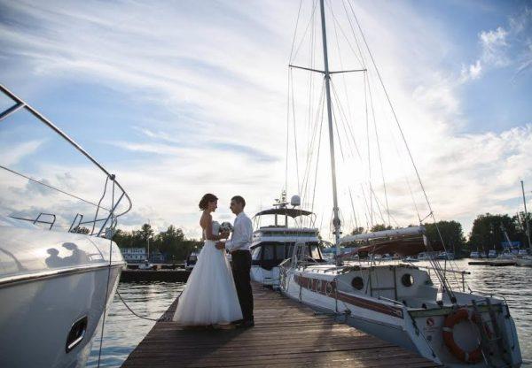 Проведение свадьбы в Яхт клубе
