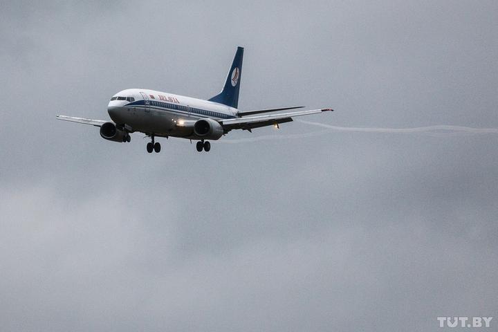 Еще один самолет из Хургады сегодня не смог приземлиться в Бресте и улетел в Минск