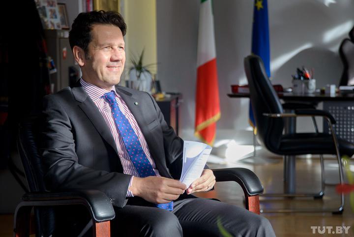 Посол Италии в Беларуси: «Когда прочел, что я в больнице из-за коронавируса, рассмеялся»