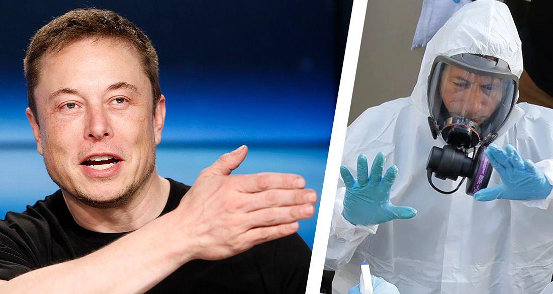 «Верните людям свободу!»: Илон Маск выступил против коронавирусного карантина