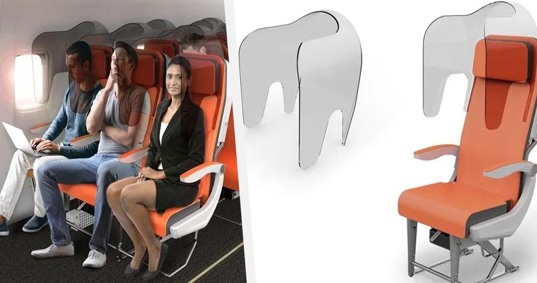 Авиакомпании разработали безопасные от коронавируса кресла для полётов. Подробности