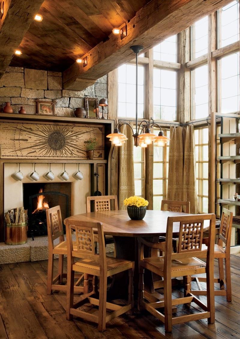 Отделка интерьера деревом: почему древесина в оформлении домов популярна