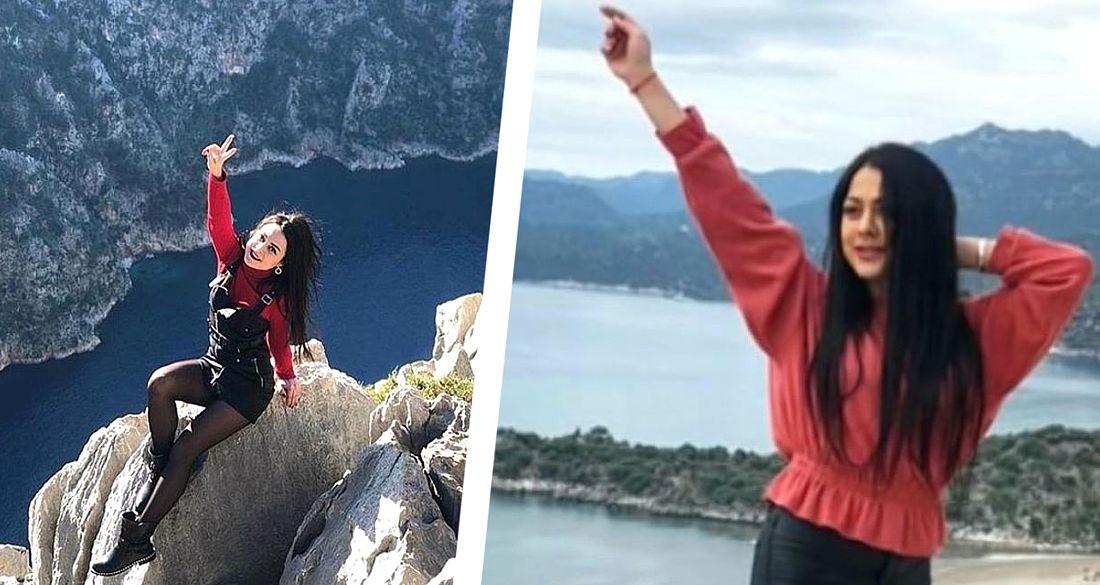Смерть на карантине в Турции: девушка гид погибла, сорвавшись с обрыва в Анталии во время селфи