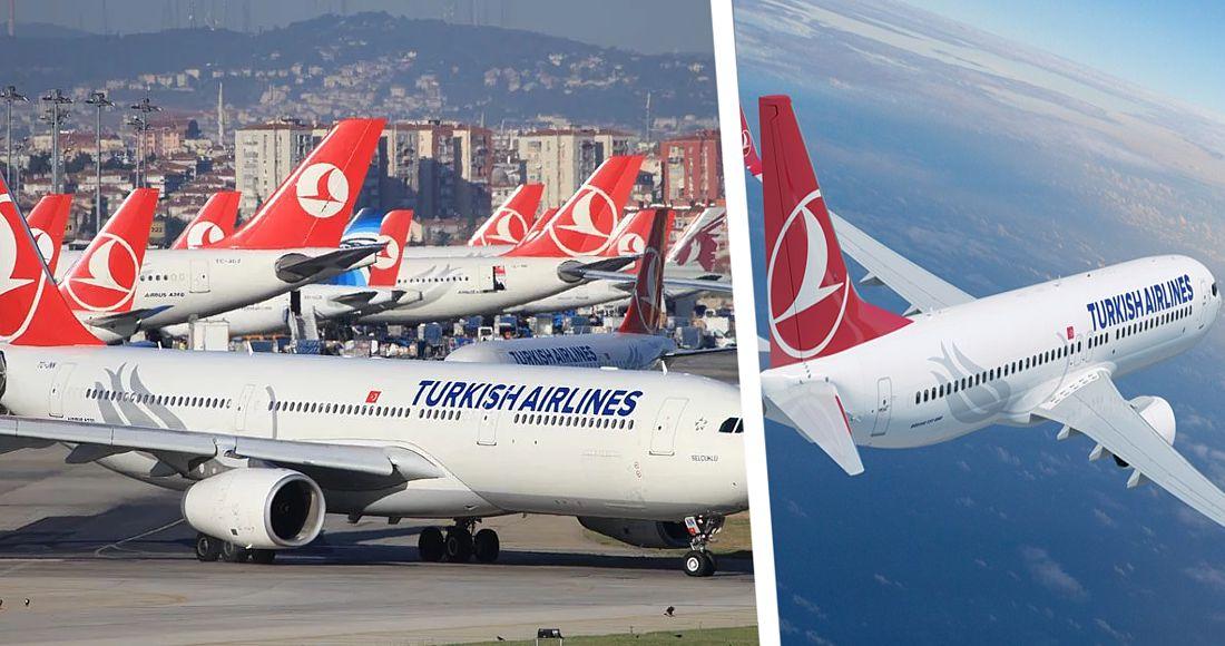 Turkish Airlines опубликовал список стран, куда с июня авиакомпания начнёт летать