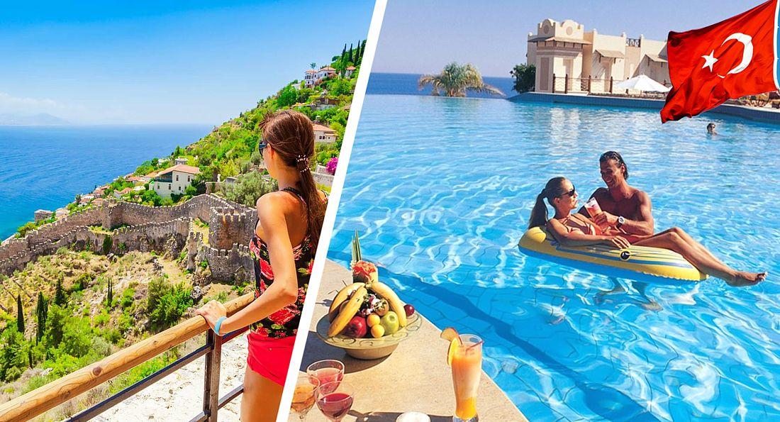 Отдых в Турции открывается с 15 июля для ковидных британцев. А когда для российских туристов?