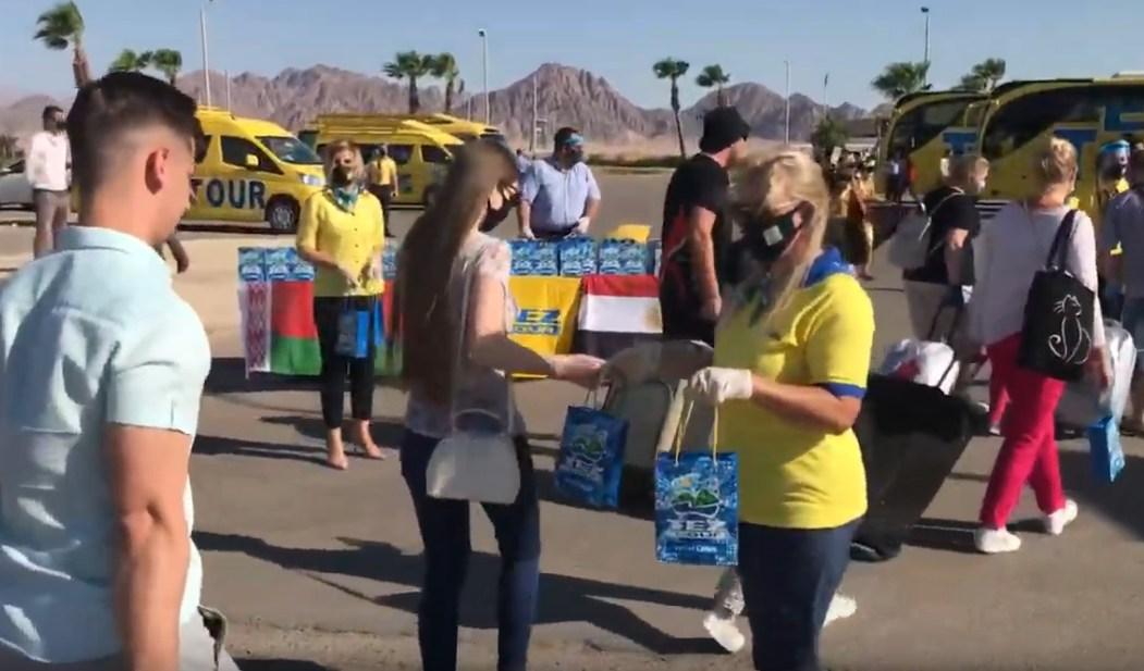 Правительство Египта сообщило о российских туристах, прибывающих в Хургаду и Шарм-эль-Шейх после открытия