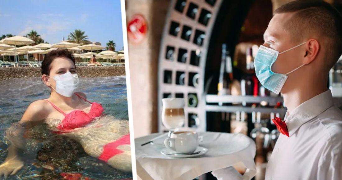 Турецкие отели были пойманы на массовом нарушении антиковидных правил
